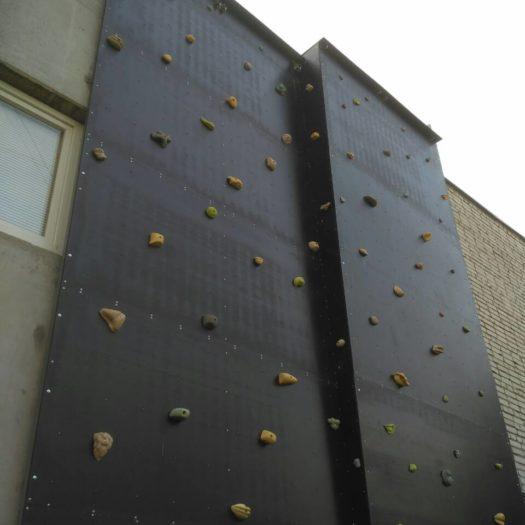 Строительство скалодрома пристенного типа в Академии сухопутных войск (Львов)