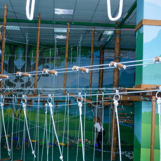 Строительство развлекательного комплекса в детском клубе «Малышляндия» в Северодонецке