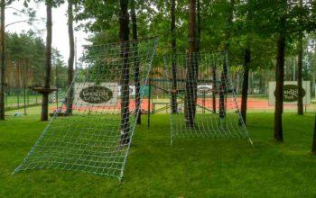 Веревочный парк в загородном клубе Goodlife Park г.Вышгород