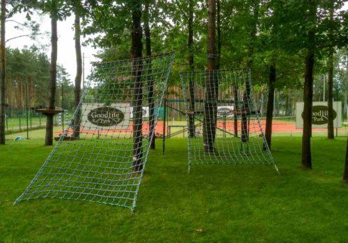 Строительство веревочного парка Goodlife Park в Вышгороде