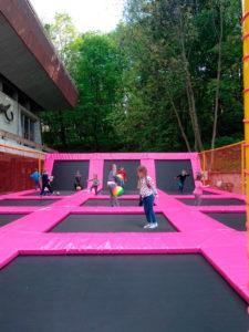 Проект строительства батутной арены в парке Львова