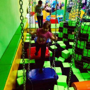 Строительство ниндзя-парков для детей и взрослых Украина