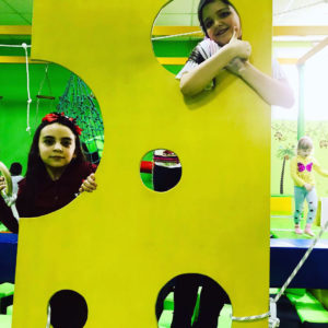 Ниндзя парк для детского небольшого развлекательного центра