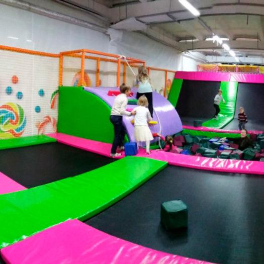 Строительство детского развлекательного центра Candy land в г. Лисичанск
