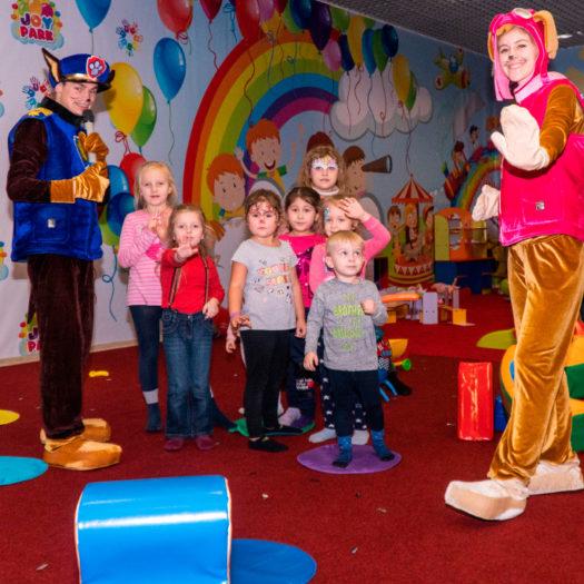 Открытие игрового комплекса Joy park в Харькове