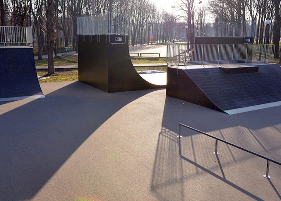 Проектирование, строительство роллердромов и скейт-парков в Украине под ключ