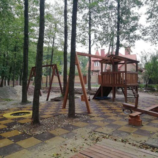Строительство детской площадки для частного ЖК в Сумах