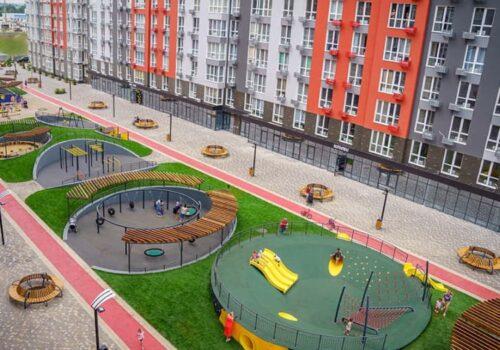 Проектирование и строительство детской зоны капсульного парка в Одессе
